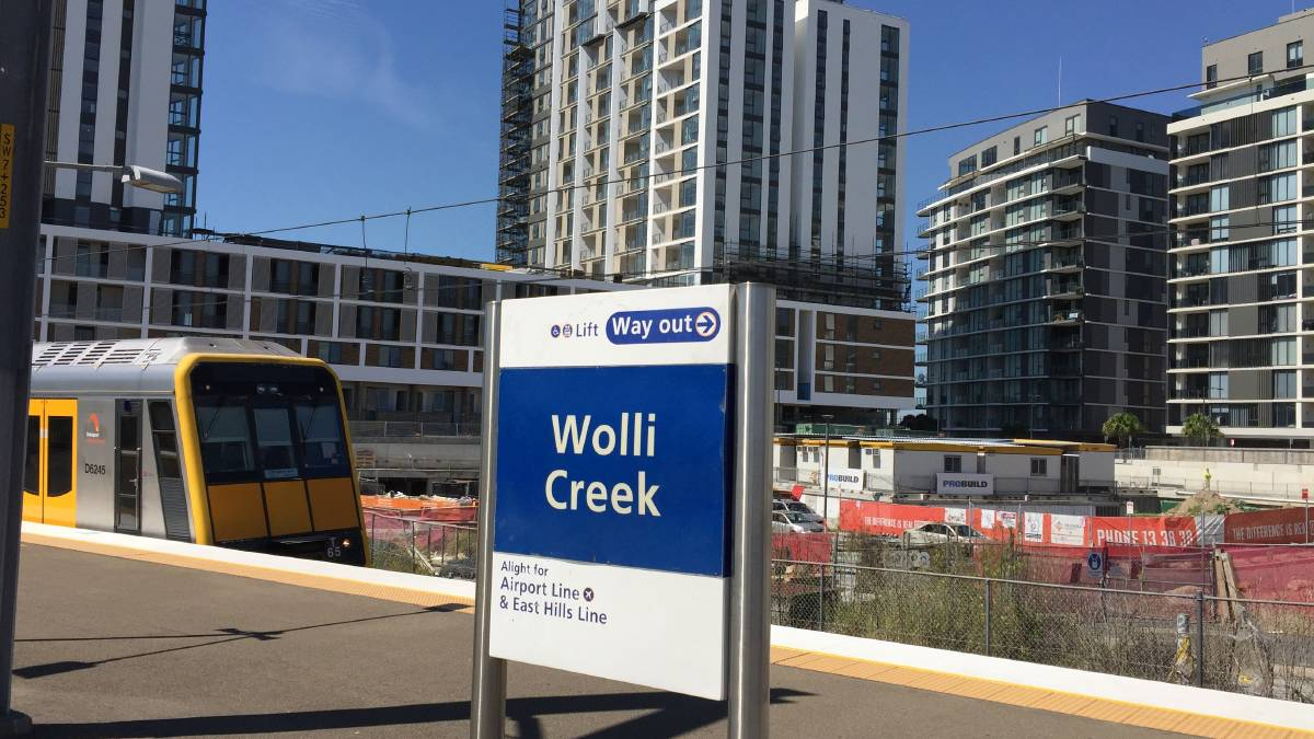 wolli creek station